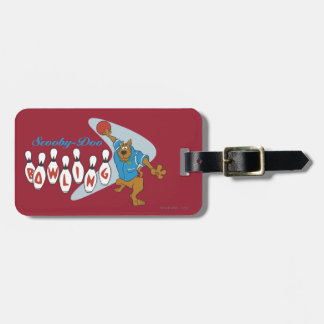 "Scooby Doo ""Bowling""1 Bag Tag"