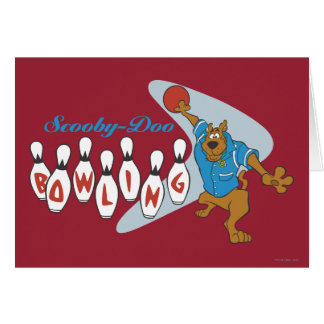 """Scooby Doo """"Bowling""""1 Card"""