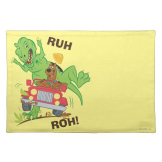 Scooby Doo Dinosaur Attack1 Placemat