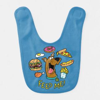 Scooby-Doo Feed Me! Baby Bibs