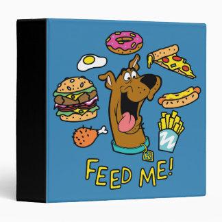 Scooby-Doo Feed Me! Binders