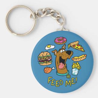 Scooby-Doo Feed Me! Keychain