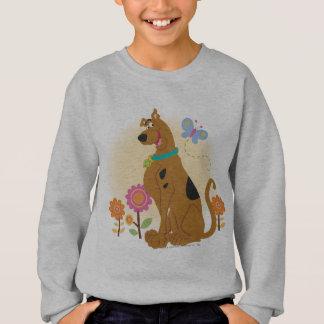 Scooby Doo Following Butterfly1 Sweatshirt