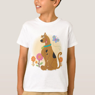 Scooby Doo Following Butterfly1 T-shirts