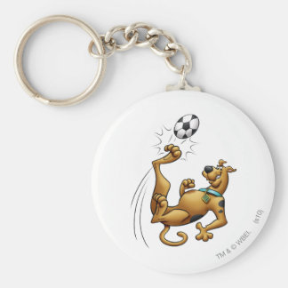 Scooby Doo Goal Sports Airbrush Pose 1 Keychain