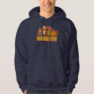 "Scooby-Doo   ""Groovy Gang"" Retro Cartoon Graphic Hoodie"