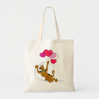 Scooby Doo - Heart Balloons Budget Tote Bag