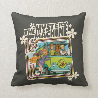"Scooby-Doo | ""It's Lit"" Mystery Machine Graphic Throw Pillow"