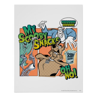 "Scooby Doo ""My Scooby Snacks""2 Poster"