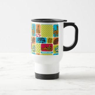 Scooby-Doo Mystery Pattern Travel Mug