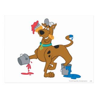 Scooby Doo Paint3 Postcard