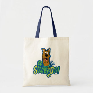 Scooby-Doo Paw Print Character Badge Tote Bag