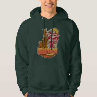 """Scooby-Doo   Pile of Pizza """"Munchies"""" Graphic Hoodie"""