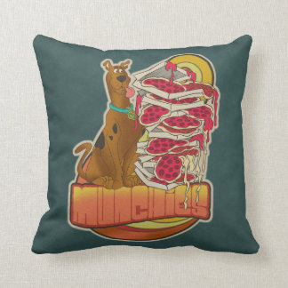 "Scooby-Doo | Pile of Pizza ""Munchies"" Graphic Throw Pillow"
