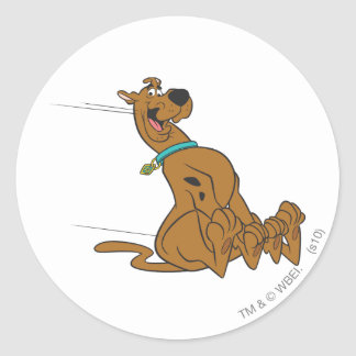 Scooby Doo Pose 101 Round Sticker