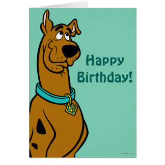 Scooby Doo Pose 27 Card