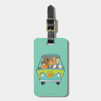 Scooby Doo Pose 71 Luggage Tag