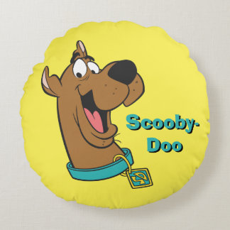 Scooby Doo Pose 85 Round Pillow