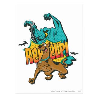 """Scooby Doo """"Reeeelp!"""" Postcard"""