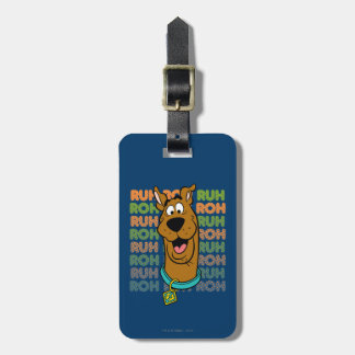 Scooby-Doo Ruh Roh Bag Tag