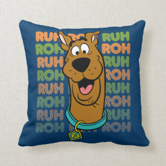 Scooby-Doo Ruh Roh Throw Pillow