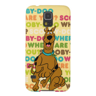 "Scooby-Doo Running ""Where Are You?"" Galaxy S5 Case"