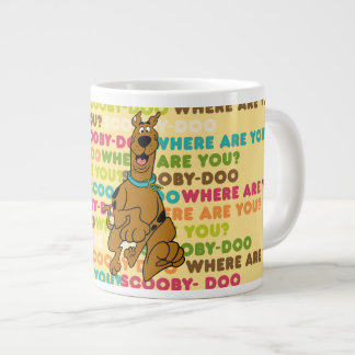 "Scooby-Doo Running ""Where Are You?"" Large Coffee Mug"