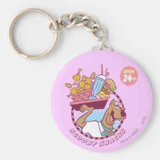 """Scooby Doo """"Scooby Snacks"""" Keychain"""