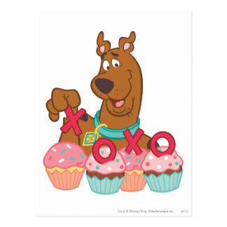 Scooby Doo - Scooby XOXO Cupcakes Postcard
