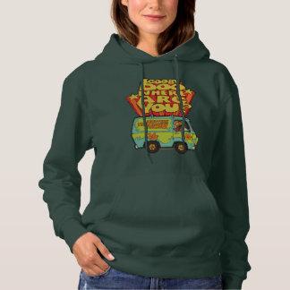 "Scooby-Doo | ""Where Are You?"" Retro Cartoon Van Hoodie"