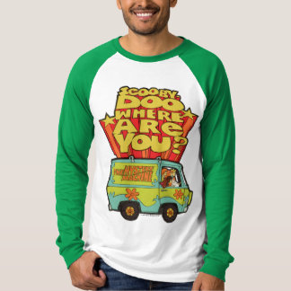 "Scooby-Doo | ""Where Are You?"" Retro Cartoon Van T-Shirt"