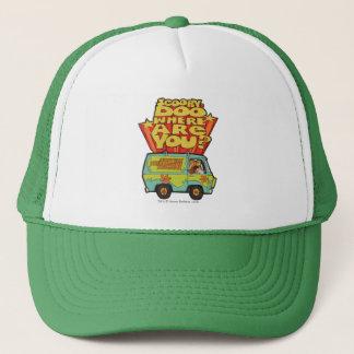 "Scooby-Doo | ""Where Are You?"" Retro Cartoon Van Trucker Hat"
