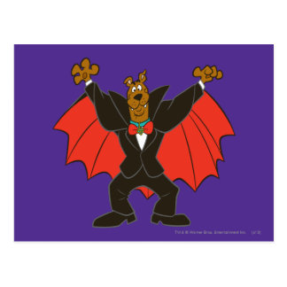 Scooby Dracula Postcard