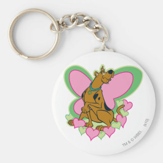 Scooby Pretty Butterfly Scooby Keychain