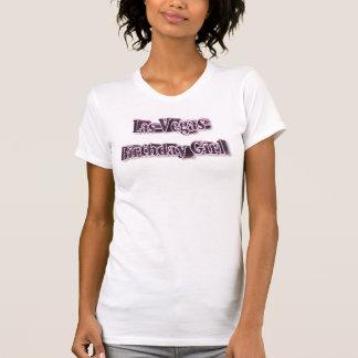 Scoop décontracté de dames de fille d'anniversaire t-shirts