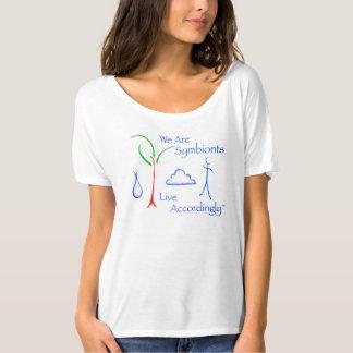Scoop Neck Symbiont T-shirt