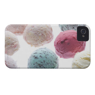 Scoops of ice creams Case-Mate iPhone 4 cases