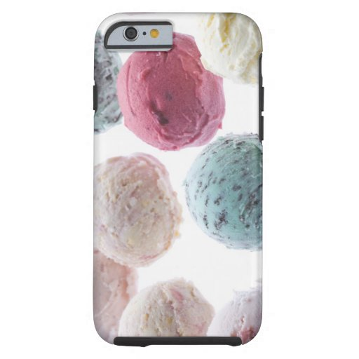 Scoops of ice creams iPhone 6 case