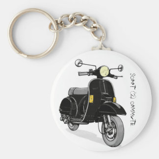 Scoot 2 commute keychain