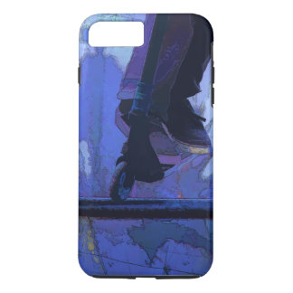 Scoot Booter -  Stunt Scooter Artwork iPhone 8 Plus/7 Plus Case