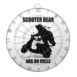 Scooter Bear Dartboard With Darts