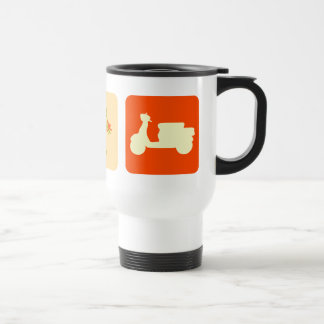 Scooter Blocks Travel Mug