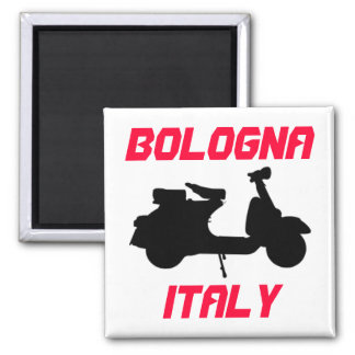 Scooter, Bologna, Italy Magnet