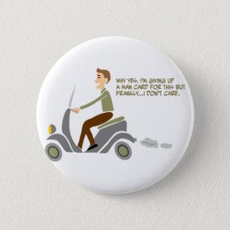 Scooter Boy 2 Inch Round Button
