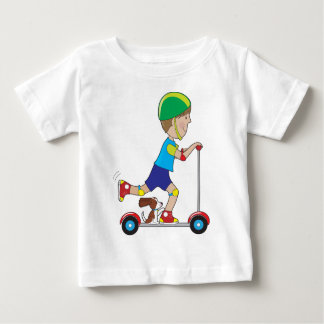 Scooter Boy Baby T-Shirt
