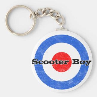Scooter Boy keychain