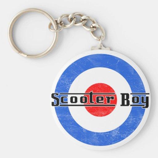 Scooter Boy Lambretta keychain