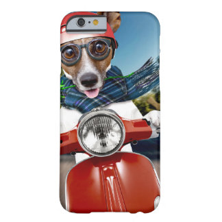 Scooter dog ,jack russell barely there iPhone 6 case