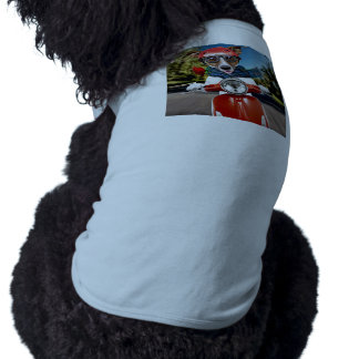 Scooter dog ,jack russell dog tee