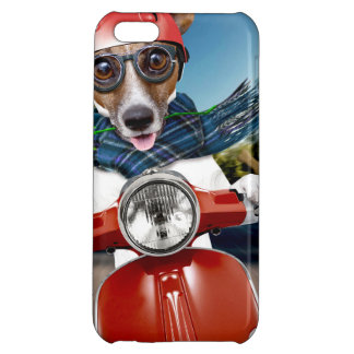 Scooter dog ,jack russell iPhone 5C case